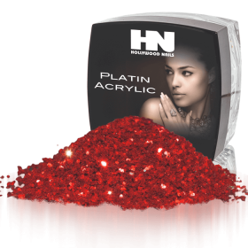 Platin Acrylic Diamond Powder Red