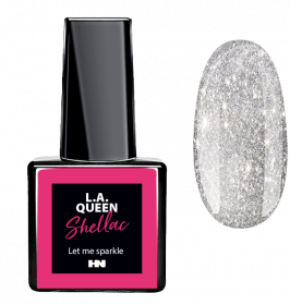L.A. Queen UV Gel Shellac  - Let me sparkle  #30 15 ml
