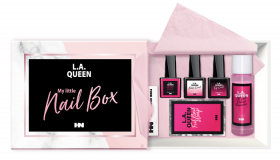 L.A. Queen Shellac Set My little Nail Box UV Lamp