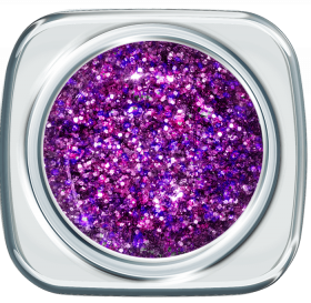 Glitter UV Gel 373 Vibruat Violet 5 g