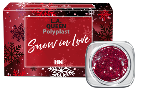 Polygel Set Snow in Love