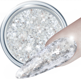 3D Glitter UV Gel Crystal
