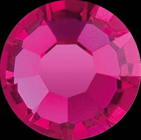 Swarovski Strass Pink 100 Stück