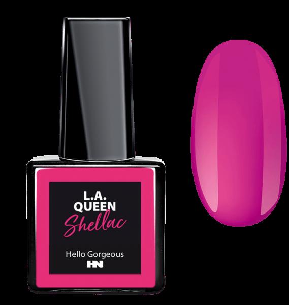 L.A. Queen UV Gel Shellac - Hello Gorgeous #17 15 ml