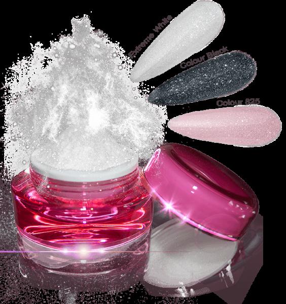 Glamour Dip Powder White Snow