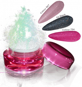 Glamour Dip Powder Mixed Sparkle