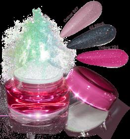 Glamour Dip Powder Mixed Sparkle
