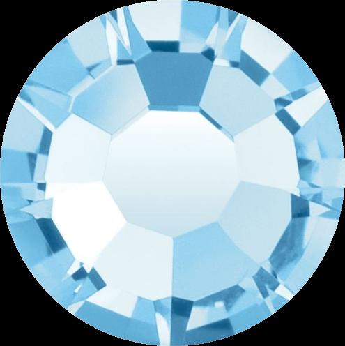 Swarovski Strass Hellblau 100 Stück