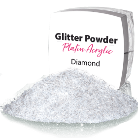 Glitter Powder Crystal White 164
