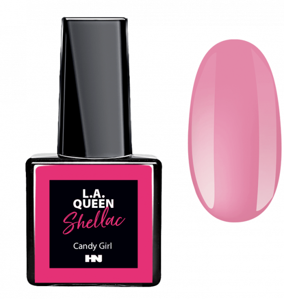 L.A. Queen UV Gel Shellac - Candy Girl #26 15 ml