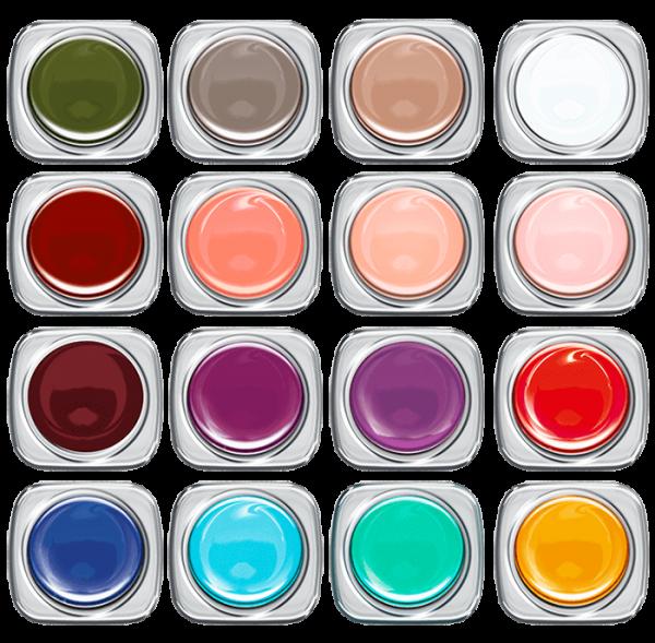 Colour UV Gel Set Statement FS 2020 16 Farben