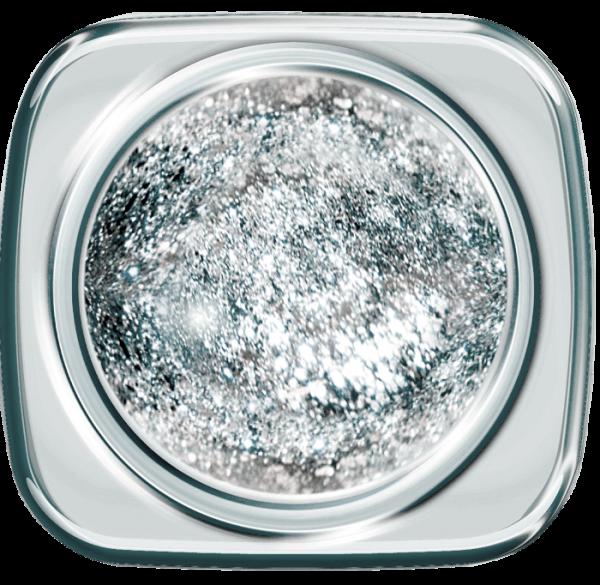 Luxury Glam Glitter Gel 386 Expensive Silver 5 g