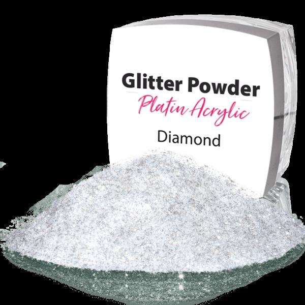 Glitter Powder Crystal White 164