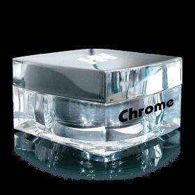 Chrome AcryLight Powder French Rosé