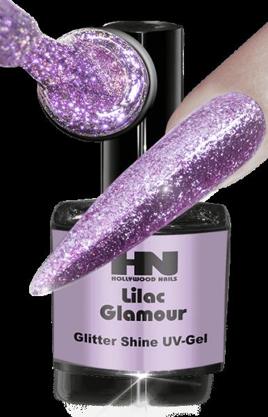 Glitter Shine UV Gel Lilac
