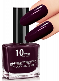 Studio Lacquer Nagellack Black Red 19