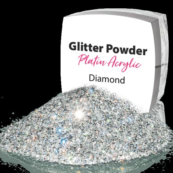 Glitter Powder Silver 00