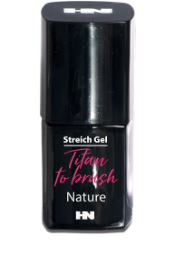 Titan to Brush Streich UV Gel Nature