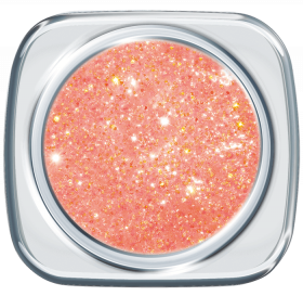 Glitter UV Gel Hot Apricot 218