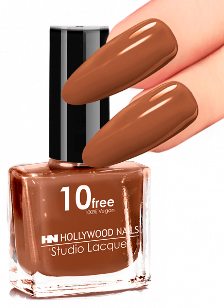 Studio Lacquer Nagellack Smart Brown 74