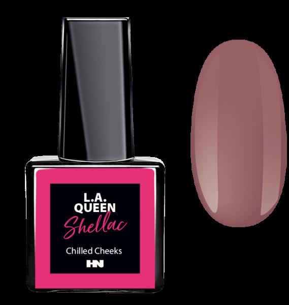 L.A. Queen UV Gel Shellac - Chilled Cheeks #28 15 ml