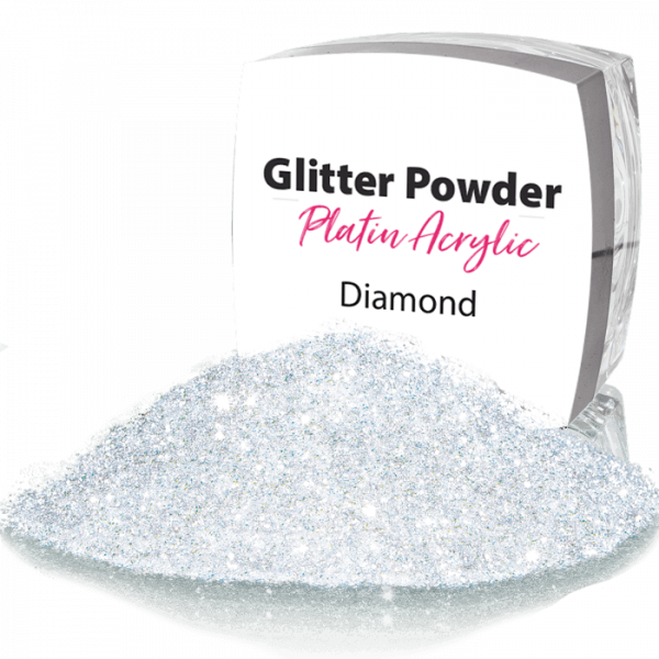 Glitter Powder White Diamonds 98
