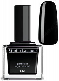 Studio Lacquer Nagellack Real Black 2