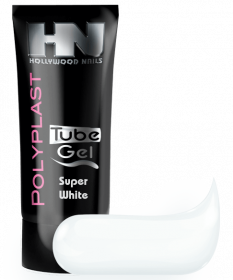 PolyPlast Tube Gel Super White Weiß