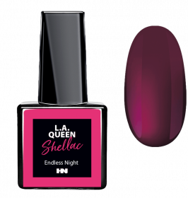 L.A. Queen UV Gel Shellac  - Endless Night #22 15 ml