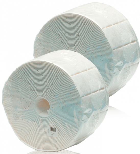 Zelletten-Rolle 2 x 500 Pads Doppelpack