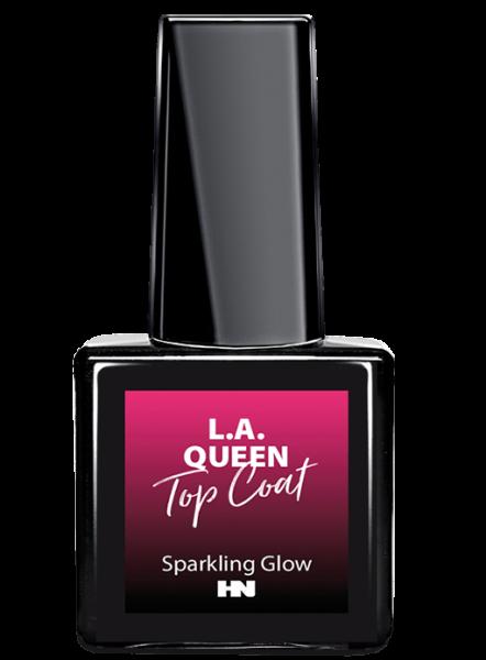 L.A. Queen Shellac Top Coat - Sparkling Glow