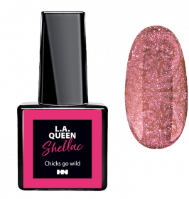 L.A. Queen UV Gel Shellac  - Chicks go wild #24 15 ml