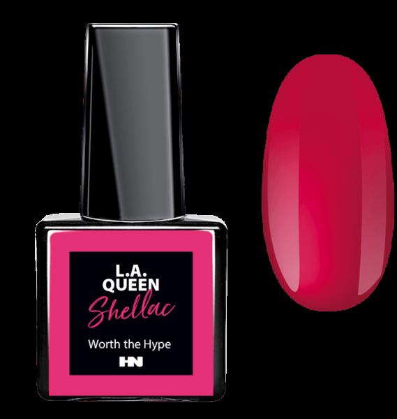 L.A. Queen UV Gel Shellac - Worth the Hype #23 15 ml