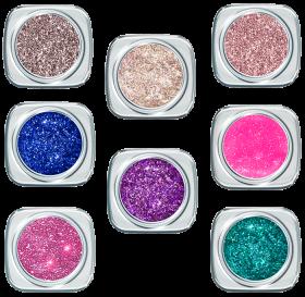 Glitter UV Gel Set  FS 2020 8 Farben