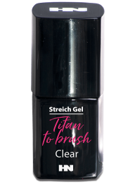 Titan to Brush Streich UV Gel Clear