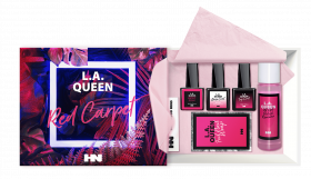 L.A. Queen UV Gel Polish Set Red Carpet