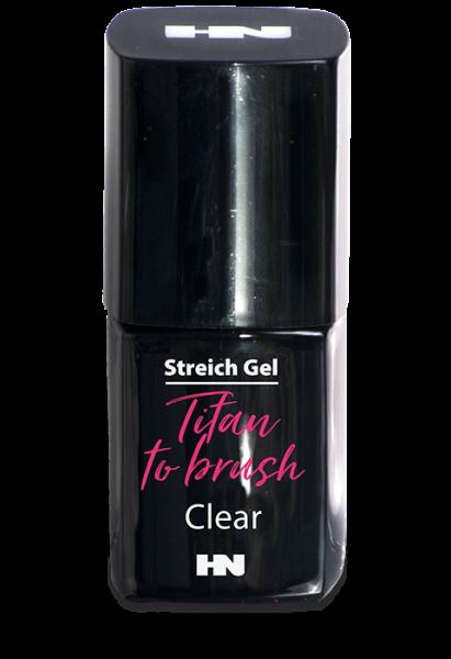 Titan to Brush Streich UV Gel Clear