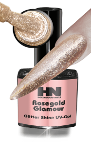 Glitter Shine UV Gel Rosegold