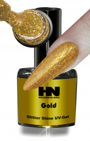 Glitter Shine UV Gel Gold