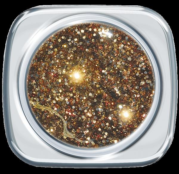 Glitter UV Gel Tasteful Gold 369