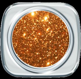 Glitter UV Gel 389 Spicy Orange