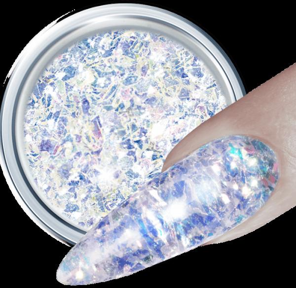 3D Glitter UV Gel Shivery 344