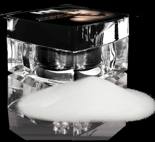 Platin Acrylic French Powder White