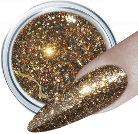 Glitter UV Gel Tasteful Gold 369