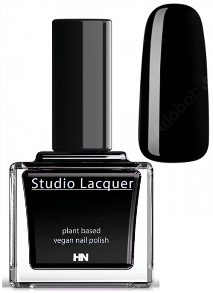 Studio Lacquer Nagellack Real Black 2