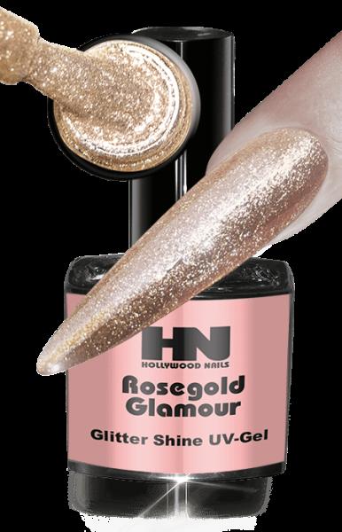 Glitter Shine UV Gel Rosegold