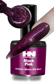Glitter Shine UV Gel Black Pink