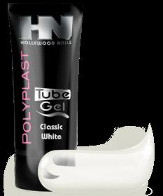 PolyPlast Tube Gel Classic White Weiß