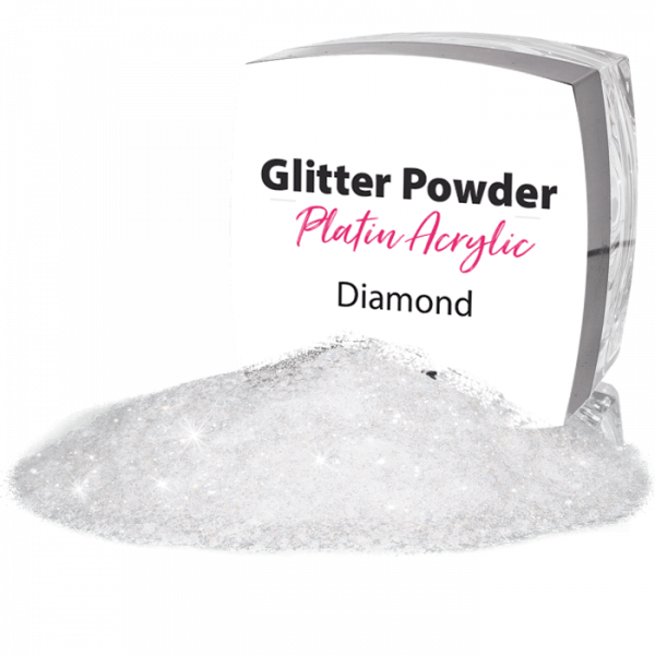Platin Acrylic French Powder Glamour White 6g