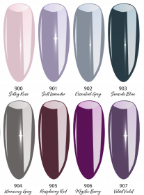 Colour UV Gel Set HW 2020/2021 Classic Chic 8 Farben